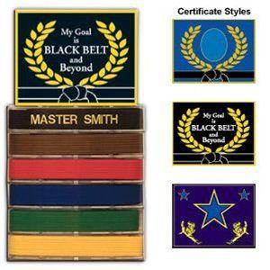 Belt Display Belt Display Display Case Karate Belt