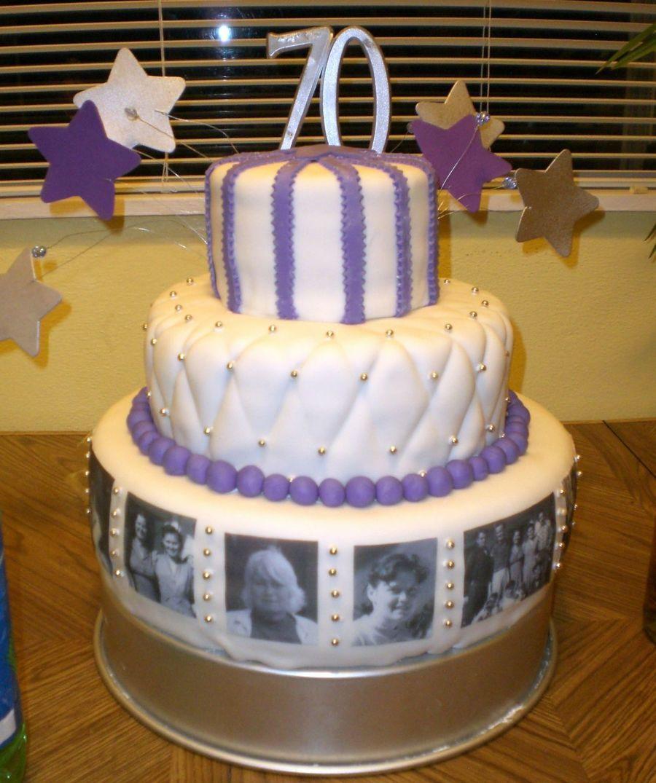 Sensational Grandmas 70Th Birthday Cake 70Th Birthday Cake 90Th Birthday Funny Birthday Cards Online Chimdamsfinfo