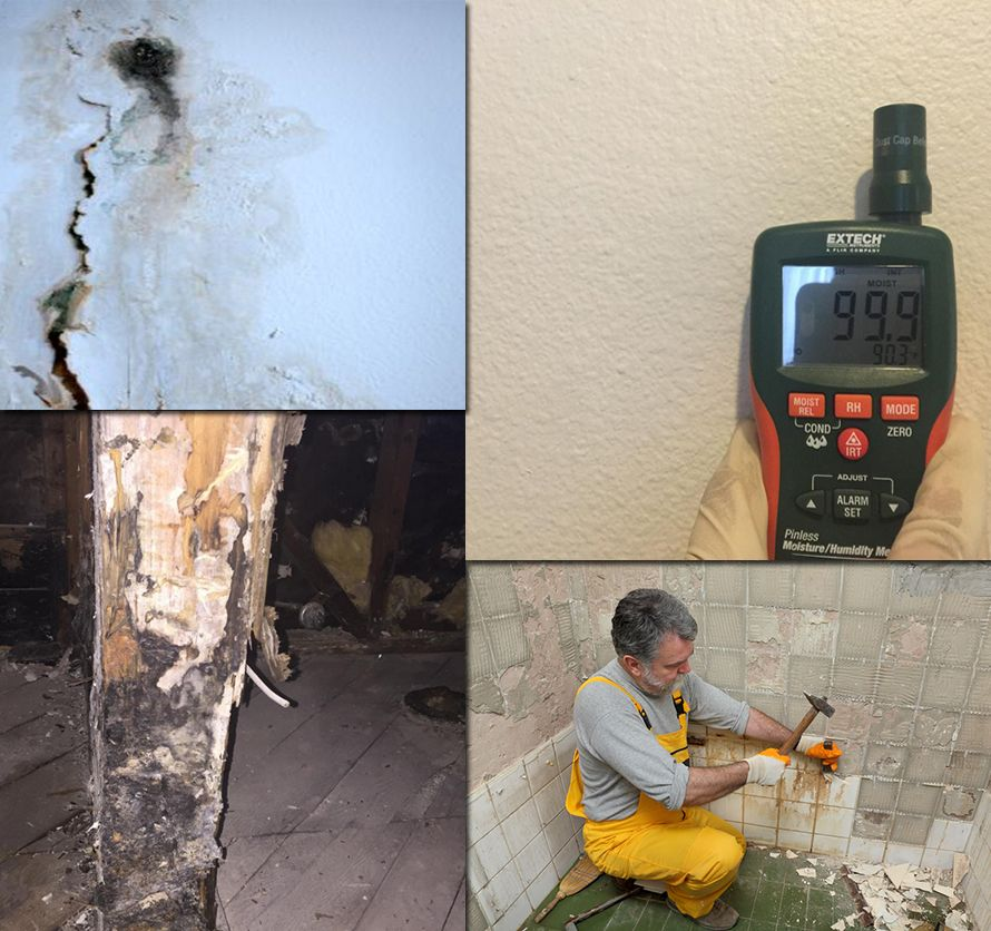 A water leak in your walls can damage your paint walls
