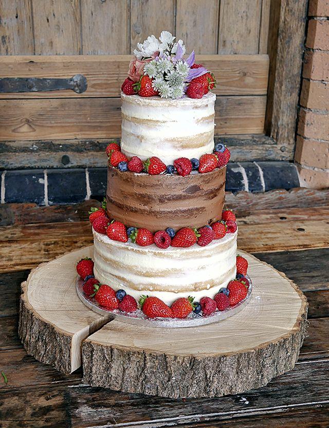 Pin on Green, white, grey wedding cake.