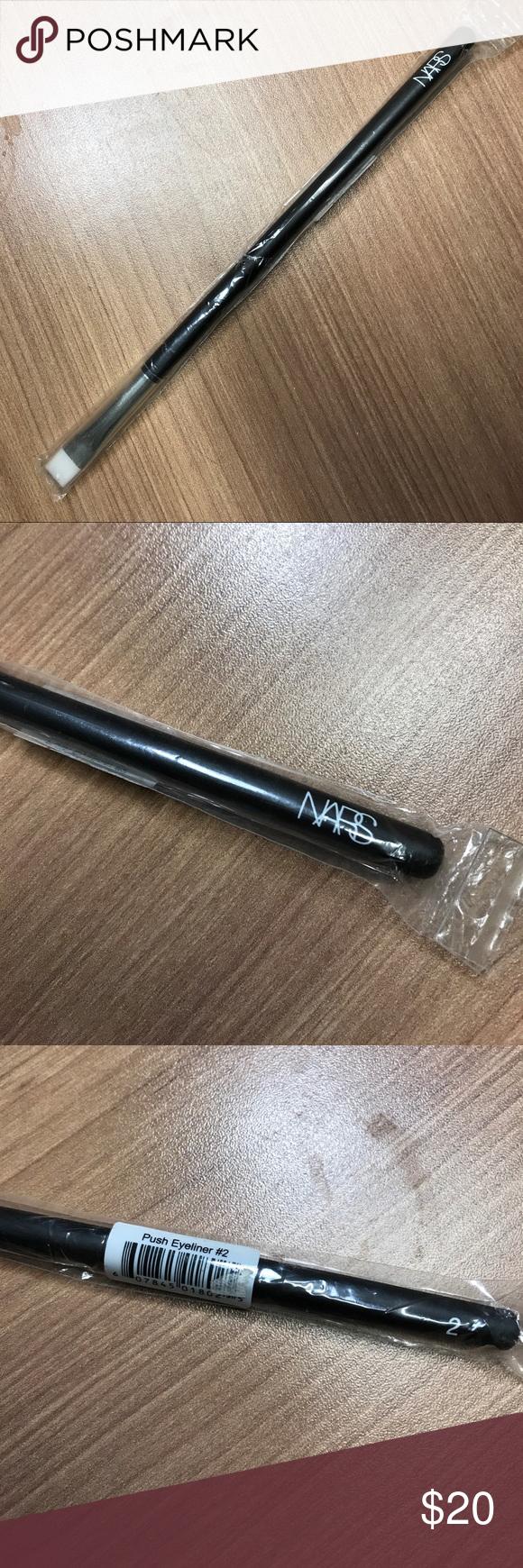New NARS Eyeliner brush NWT Nars eyeliner, Eyeliner
