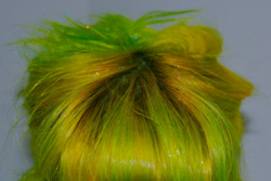 I use to have green hair like this.