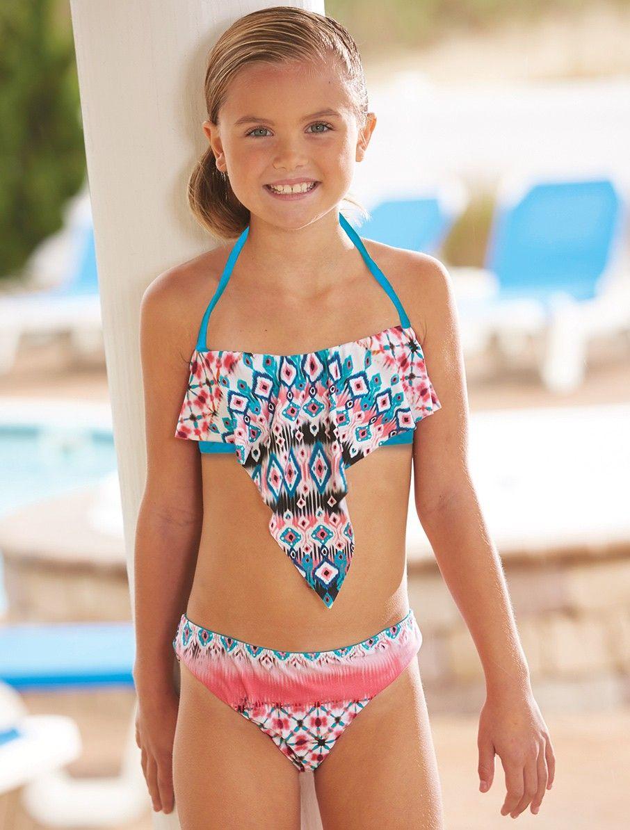 little girls modeling tankini Pinterest