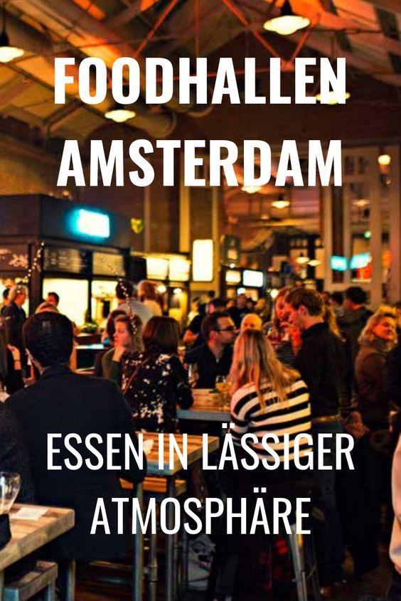 Come en un ambiente informal en los comedores de Amsterdam. ¿Vale la pena una visita?