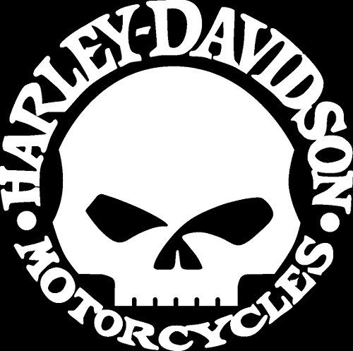 Shop Products Reviews Motorcycles Pinterest Harley - Skull decals for motorcycles