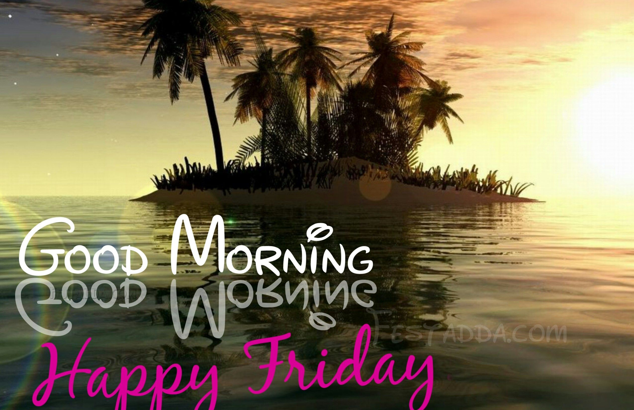Happy Friday Gif With Sound Quotes Good Morning Friday Wishes For