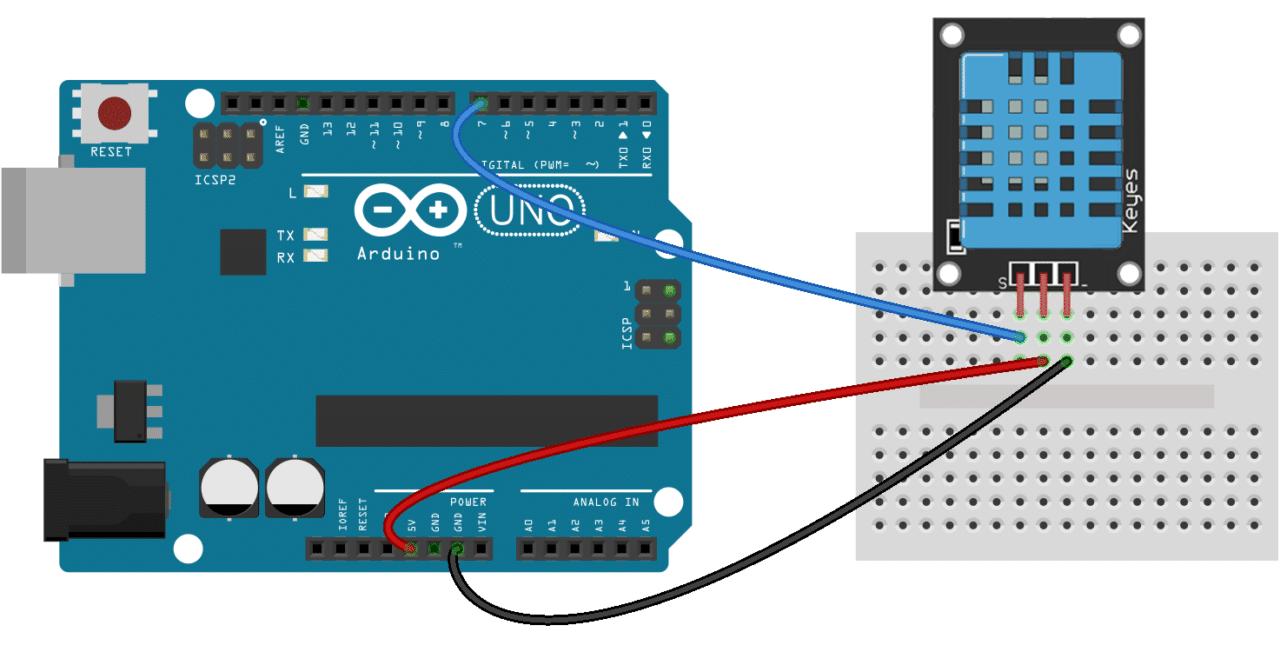 arduino dht11 tutorial 3 pin dht11 wiring diagram [ 1280 x 652 Pixel ]