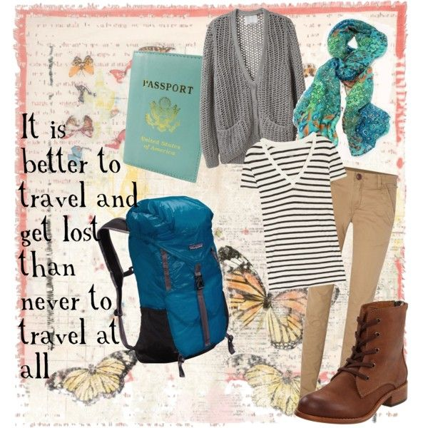 Traveling days, created on Polyvore...don't know if i could pull off the shoes, but I sure like the idea of trying!