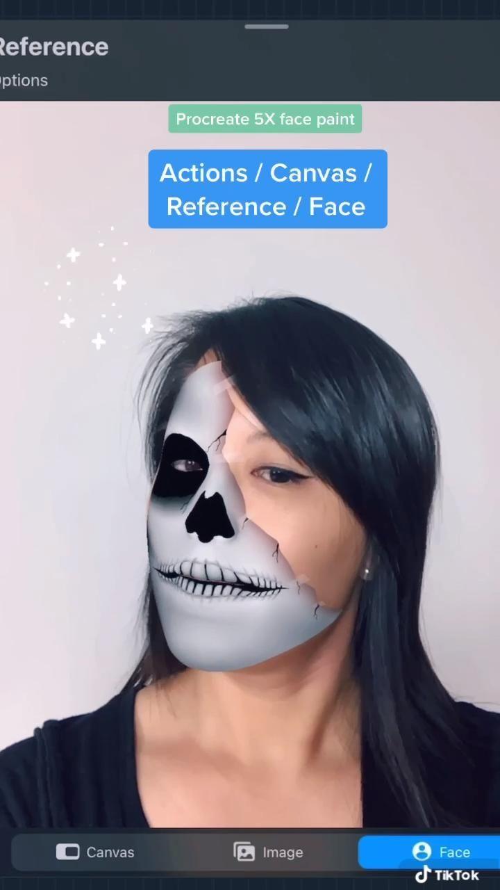 Video Procreate Fun Feature Face Paint Petunjuk Seni Digital Gambar Digital Ipad