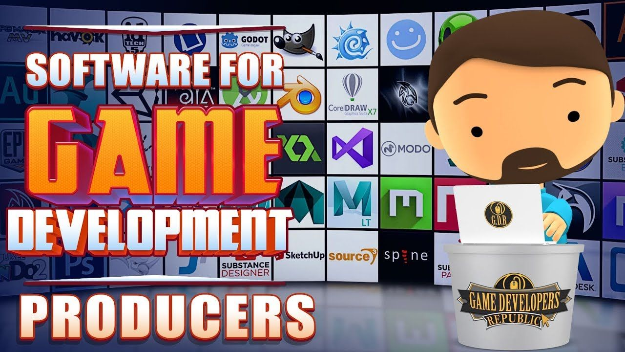 Want To Be A Video Game Producer This Video Reveals The Software Used By Game Development Studios Industr Game Development Software Game Development Games