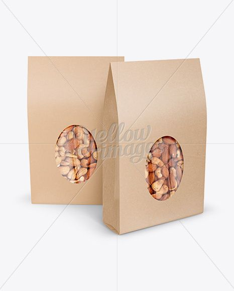 Download Two Kraft Stand Up Pouches W Nuts Mockup Front View In Pouch Mockups On Yellow Images Object Mockups Psd Template Free Mockup Free Psd Free Psd Mockups Templates