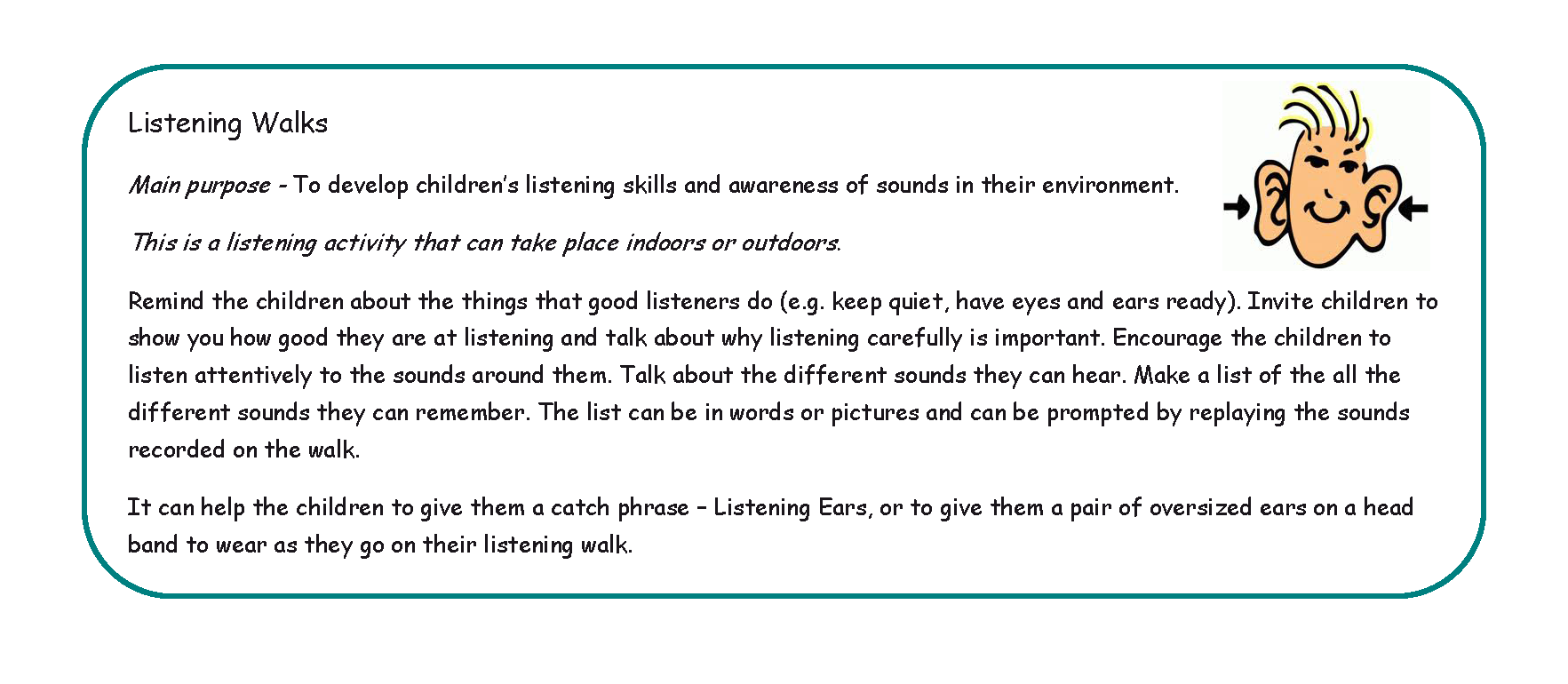 A Listening Walk