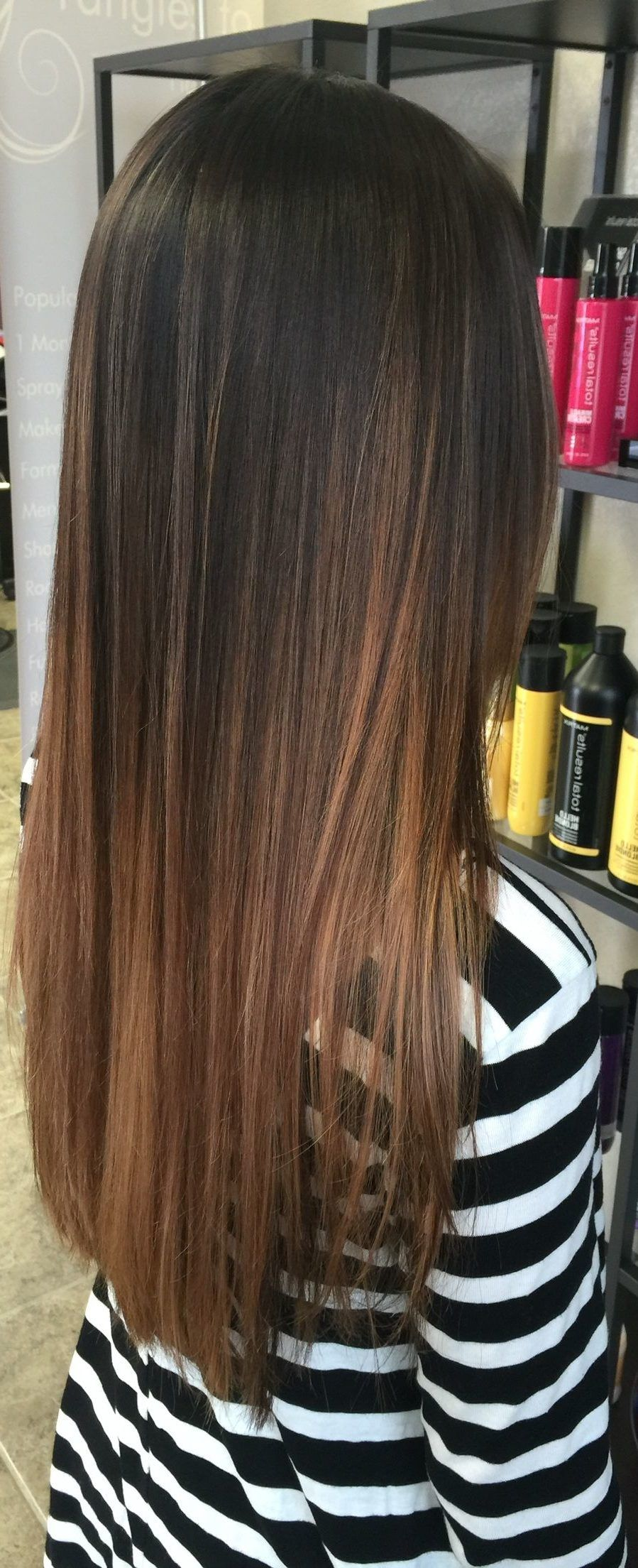 45 Dark Brown To Light Brown Ombre Long Hair Color Ideas Light