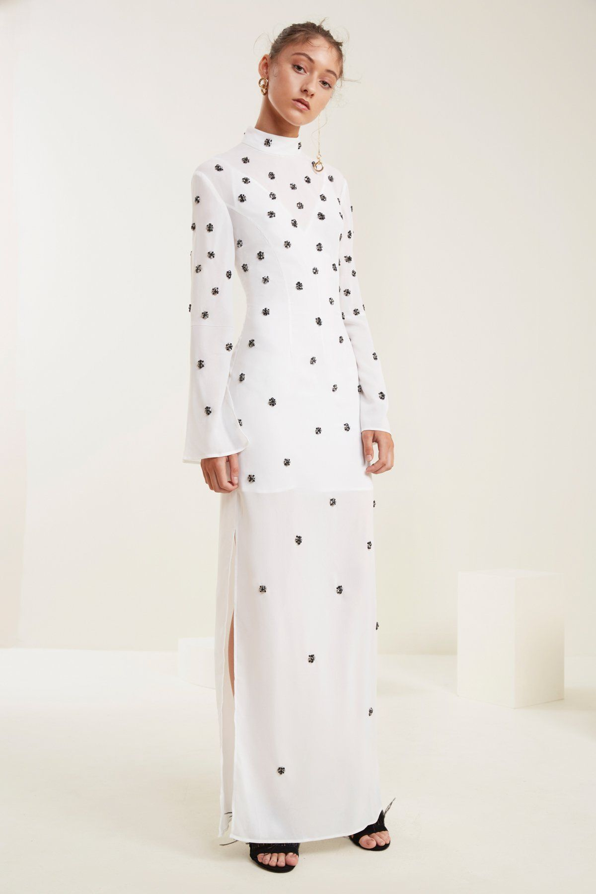 Assemble long sleeve gown ivory itus my party iull wear what i