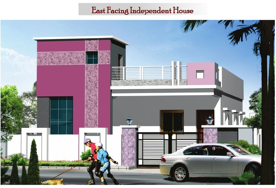 Image result for elevations of independent houses house for Single floor house elevations indian style