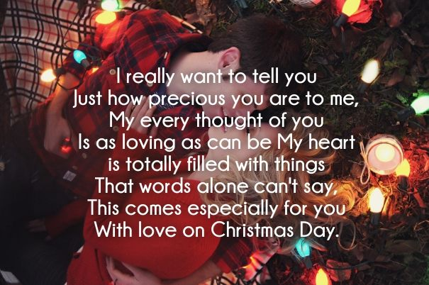 christmas love poems for him | Christmas love quotes ...