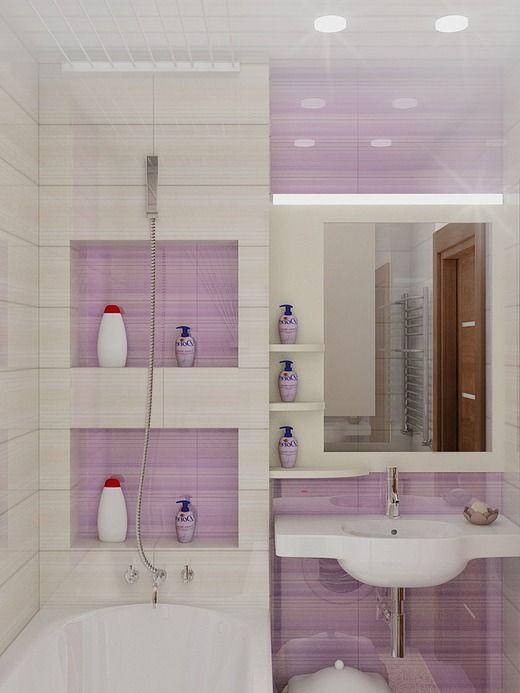 Маленькая ванная комната (35 фото): красивый проект очень ...