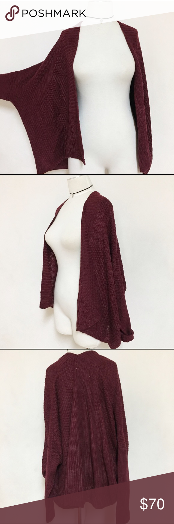 Oversized slouch loose open knot sweater NWT | Sweater cardigan ...