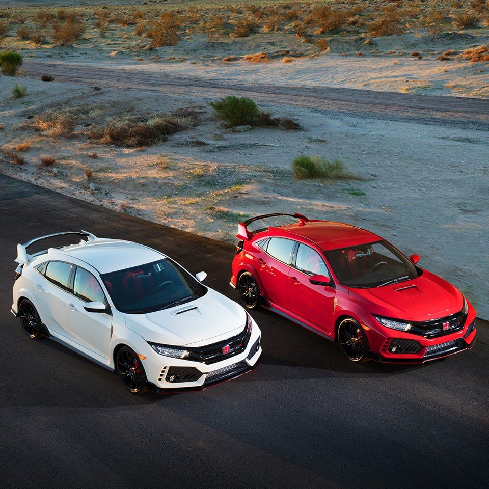 One Civic Type R on the track is thrilling. Two demand a