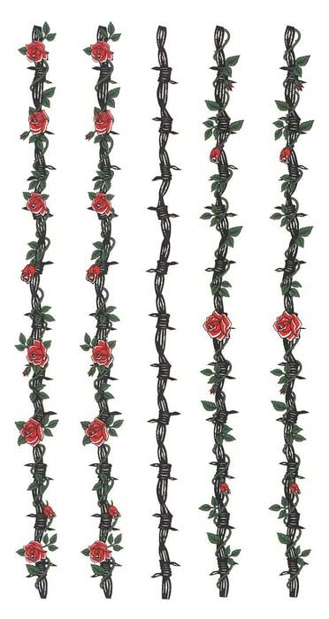Wire And Roses Tatoo Pinterest Tattoos Rose Tattoos And