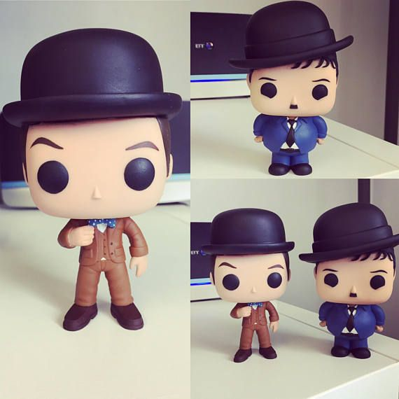 Laurel And Hardy Custom Funko Pops 12 14 Weeks Completion