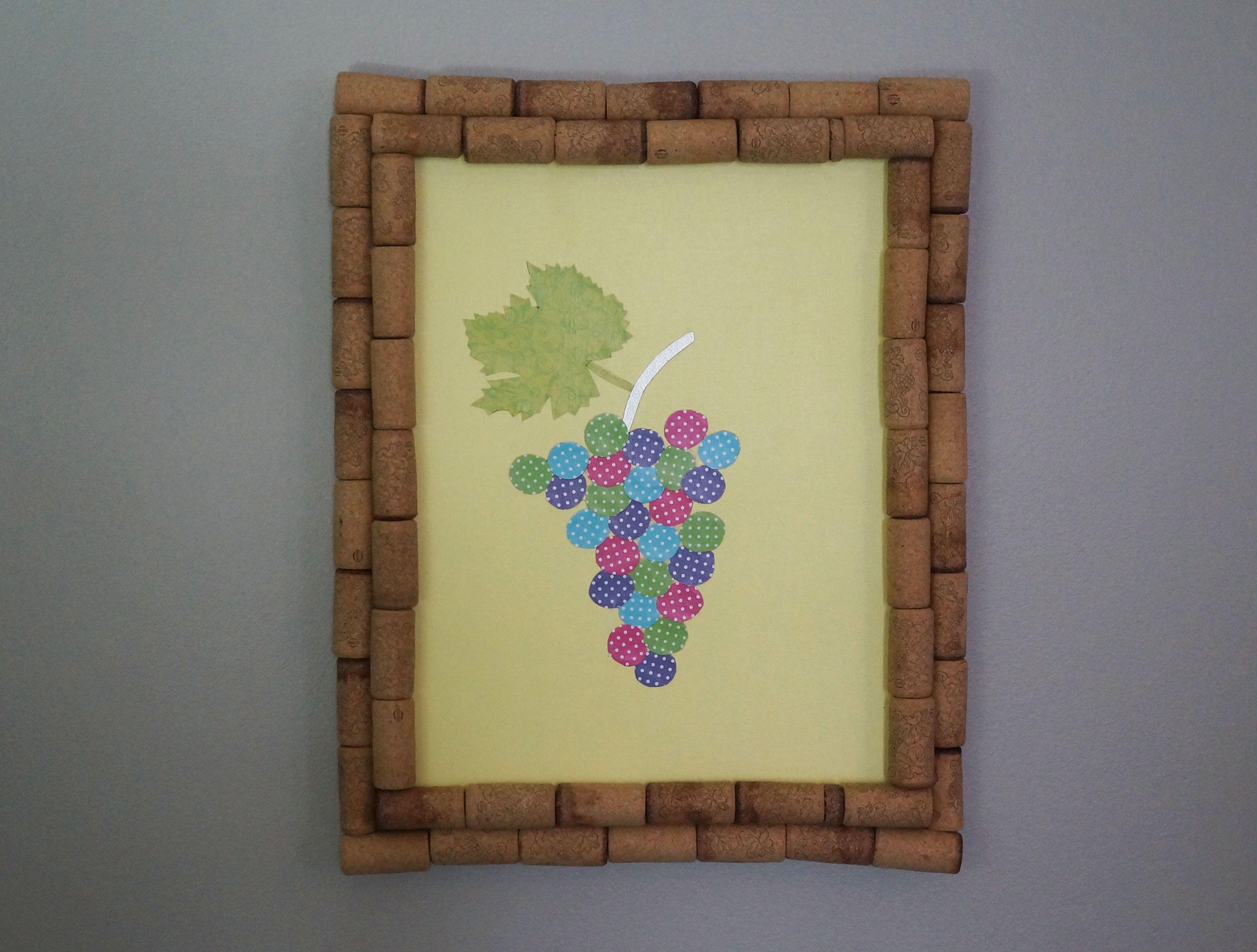 Dorable Wine Cork Wall Decor Motif - Wall Art Collections ...