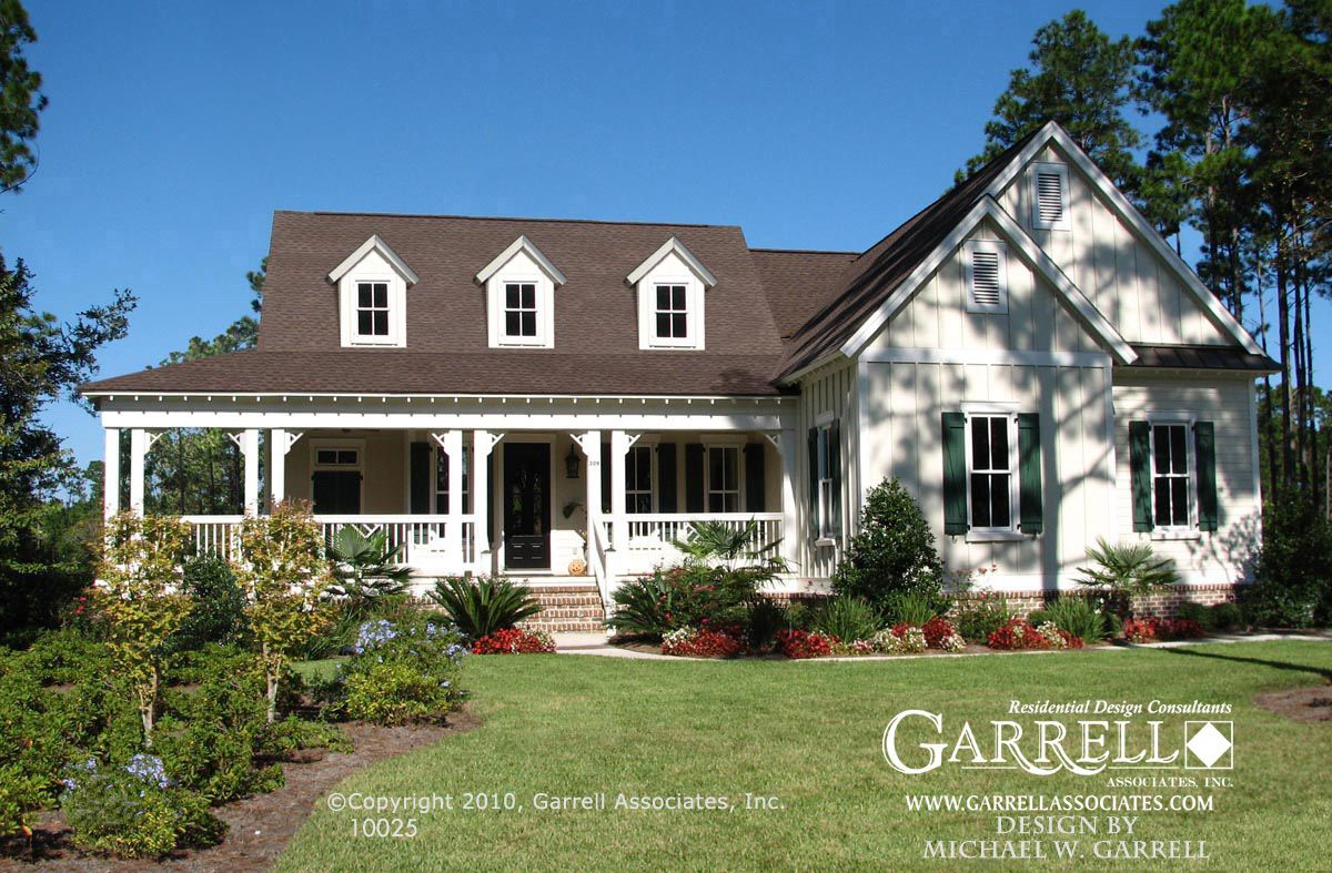 Front Elevation Of House With Porch : Garrell associates inc mark harbor front