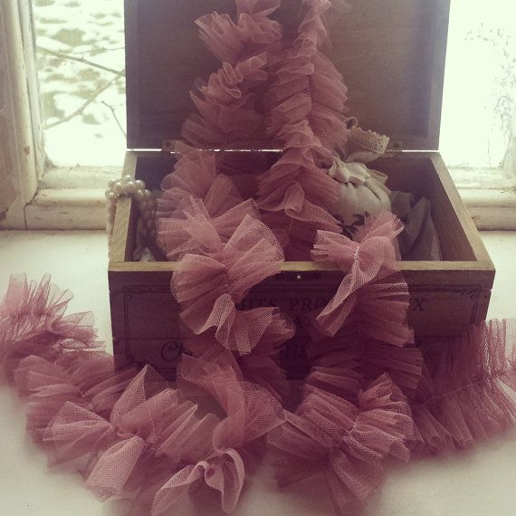 Soft tulle GARLAND, decoration, wedding, party, home decor, FREE