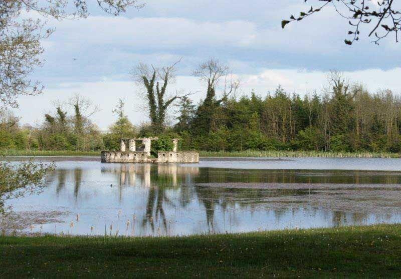 The Lake Temple At Larchill Arcadian Garden Ireland Irish Garden Gorgeous Gardens Cultural Landscape