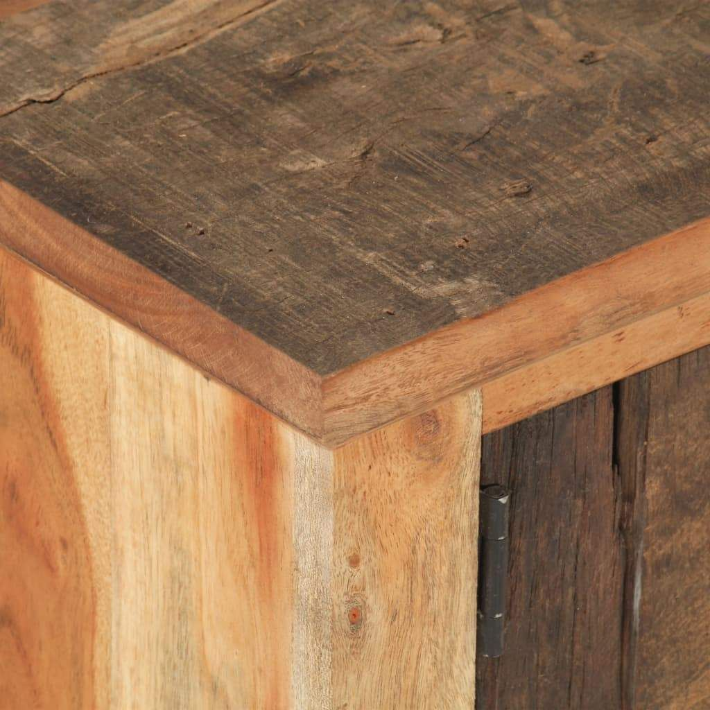 ZUN Coffee Table 35.4″x19.7″x12.2″ Solid Reclaimed Wood 3203…