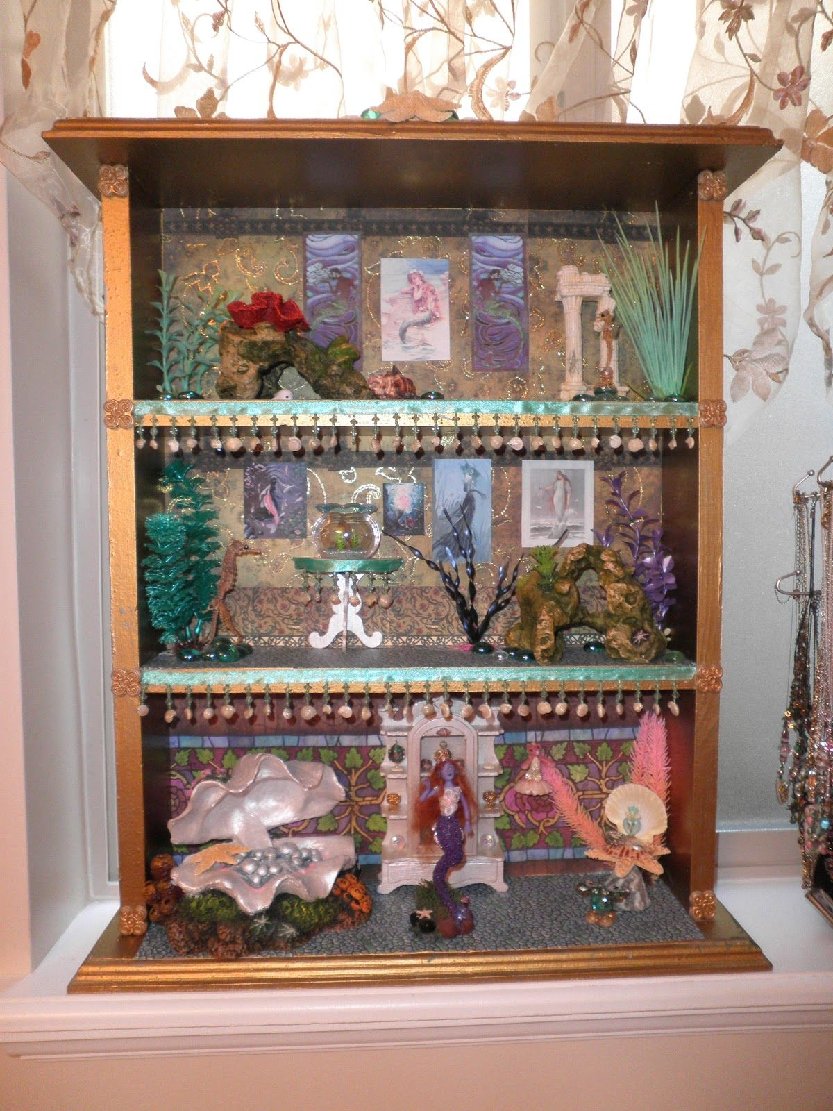 Miniature dollhouse Disney Princess book Barbie 1//12 Scale Inside out Movie