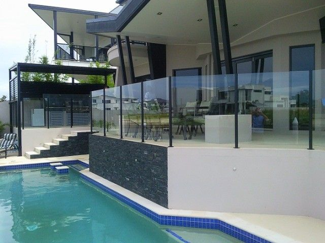 Gold Coast Frameless Glass Pool Fences For Helensvale Call Ian On 0406 728 704 Gold Coast Frameless Glass Pool Fences Go Pool Fence Glass Pool Fencing Pool