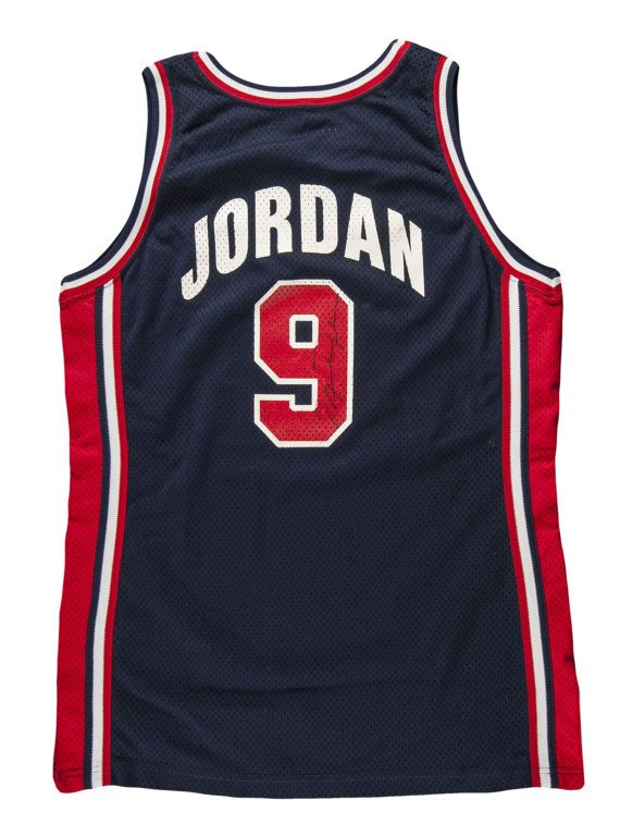 big sale e7381 53f6a 1992 Michael Jordan USA Olympic Dream Team Game Used and ...
