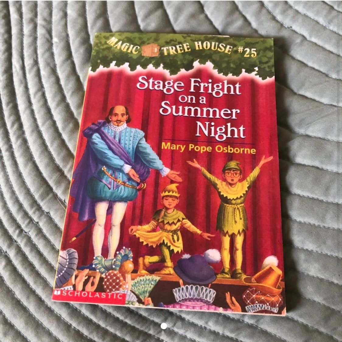 Magic Tree House Book Stage Fright On A Summer Night Book 25