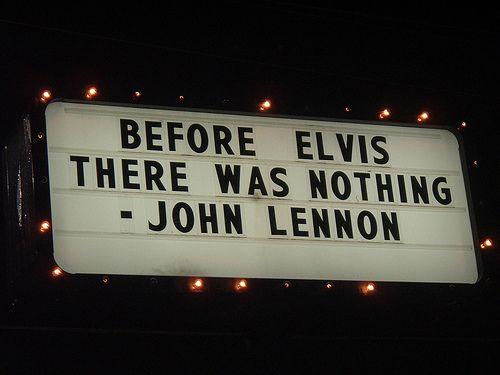 John Lennon Elvis Quote John Lenon Chanteur Et Citation