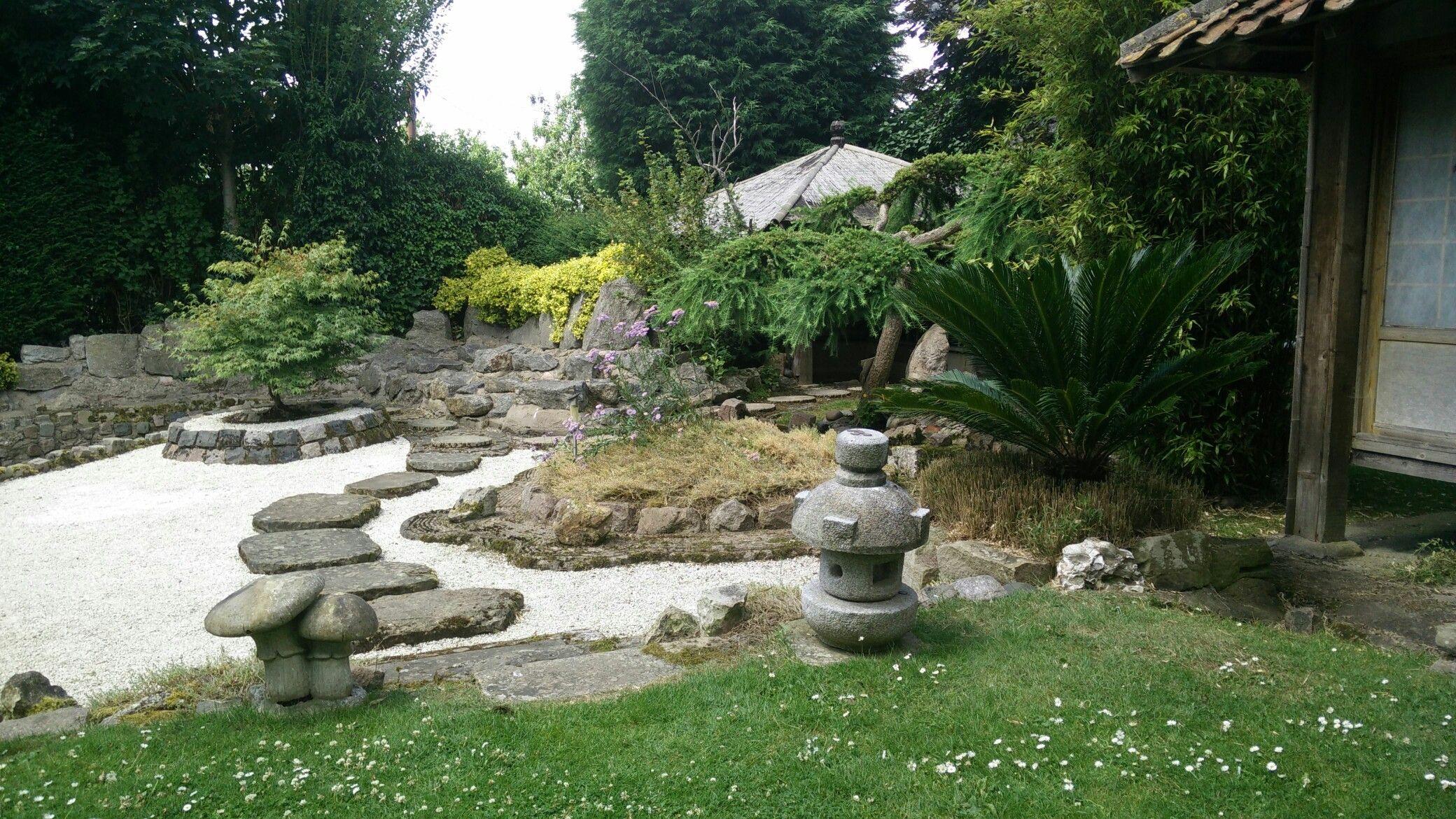 The Zen Garden At Pure Land Japanese Garden, Near Newark