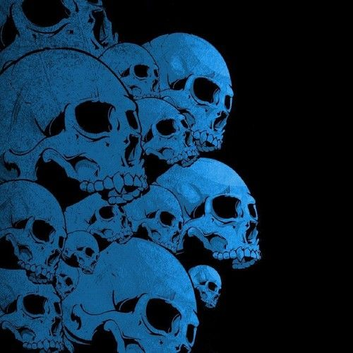Undefined Blue Skull Backgrounds 38 Wallpapers