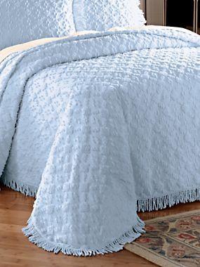 Charleston Chenille Bedspread Blair Shabby Chic Room Bed