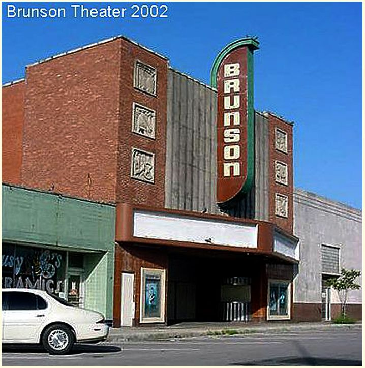 2002 Photo Of The Brunson Theater, 315 West Texas Avenue