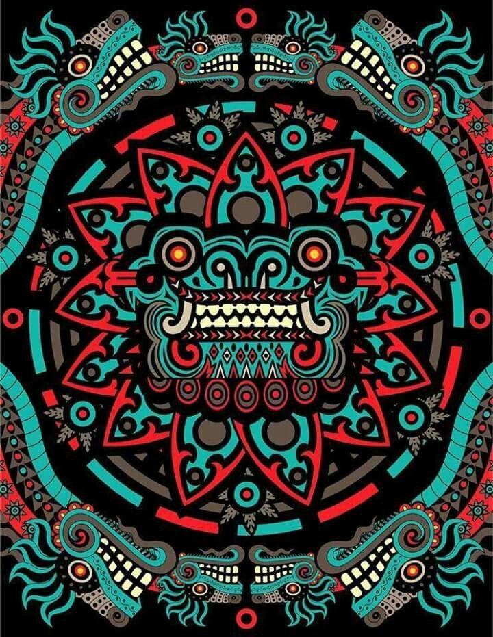 Quetzalcoatl 3 Ra 237 Ces Mexicanas Pinterest Aztec