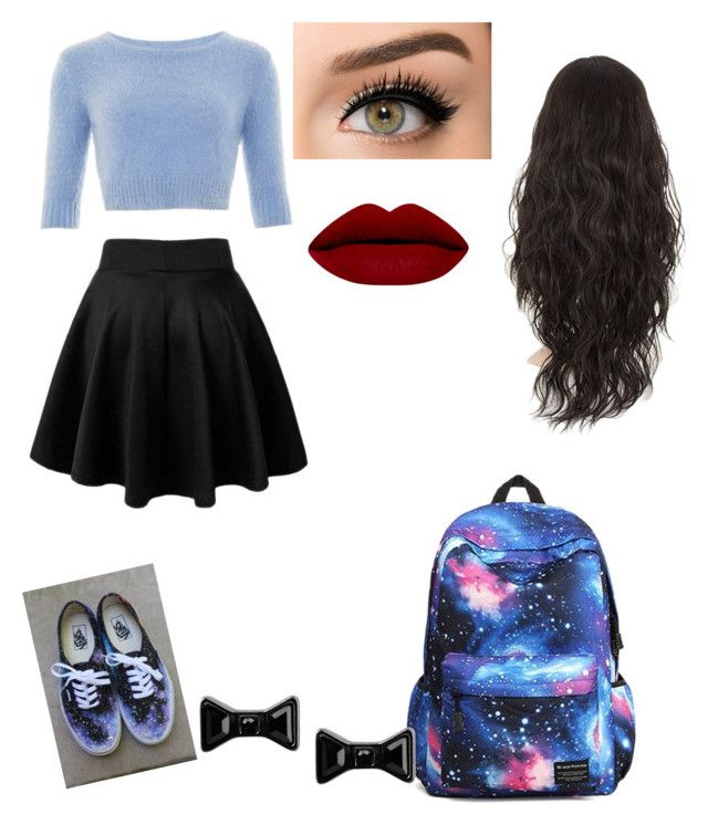 """""""im bored"""" by helloimlilly on Polyvore featuring beauty, Vans and Marc by Marc Jacobs"""
