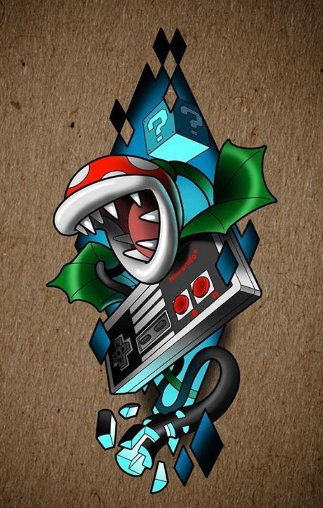 Nintendo Artwork Nes Nintento Nintendo Artwork Fondos De Pantalla De Juegos Tatuajes De Videojuegos Tatuaje De Juegos