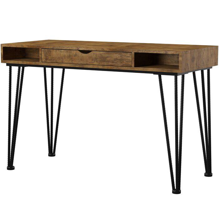Alcock Desk Desk Wood Writing Desk Contemporary Desk