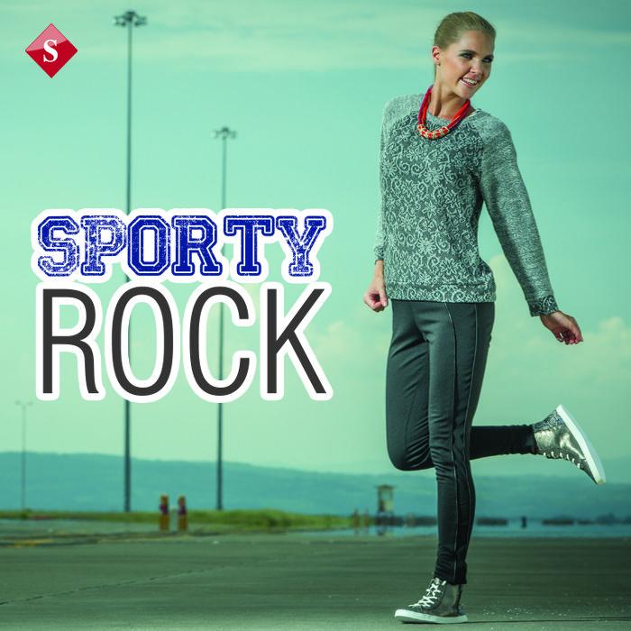 Presentamos la tendencia Sporty Rock, compuesta por rayas gruesas, colores contrastantes y detalles de cuero. Disponible en tu sucursal favorita.