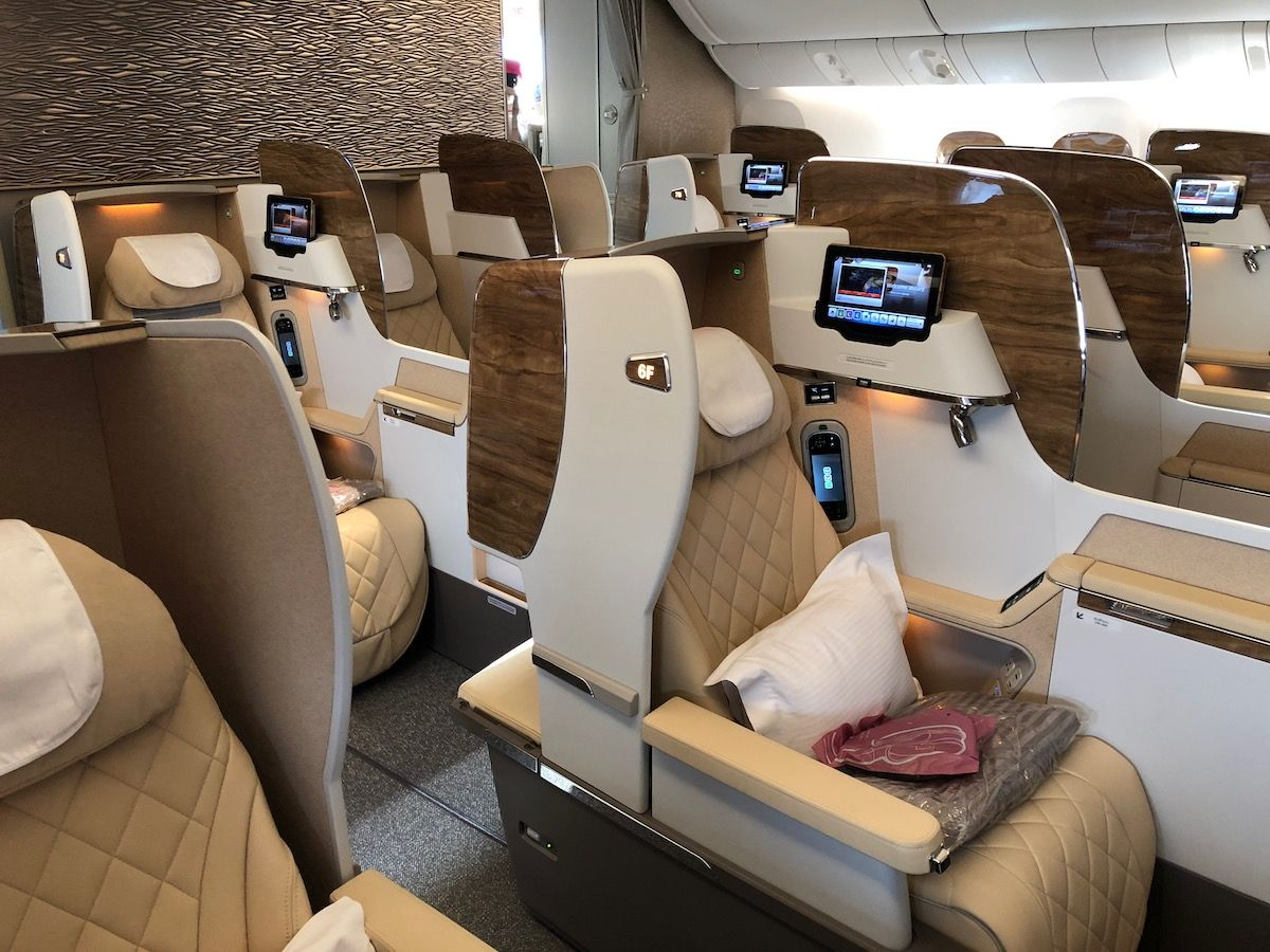 Emirates NEW 777 First Class Review I One Mile At A Time