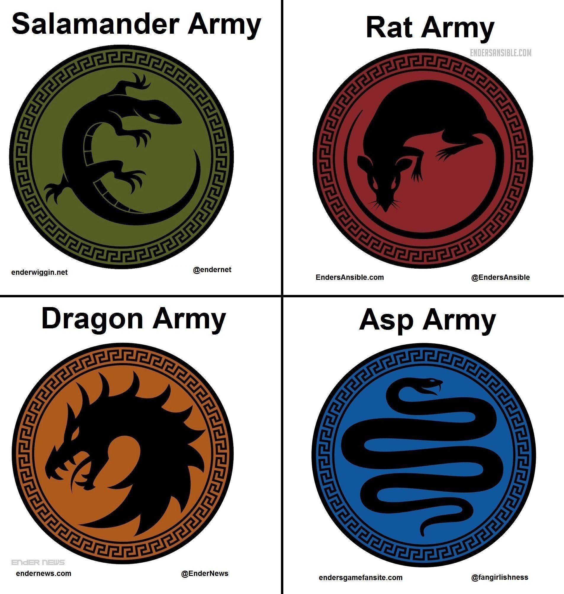 Ender's Game army symbols | Truth in Ender's Game | Ender's game