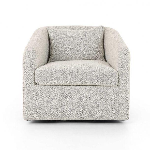 Topanga Swivel Chair Knoll Domino In 2020 Chair Swivel