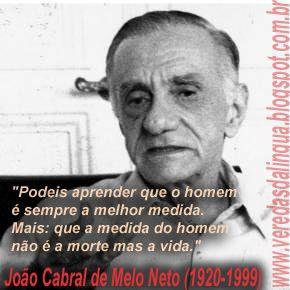 Joao Cabral De Melo Neto Poemas Poemas Escritores Palavras