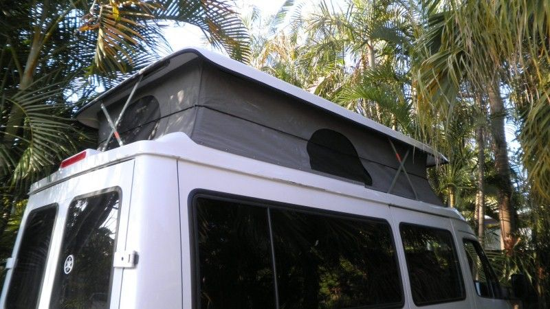 We Can Install Our Fiberglass Pop Top Roof Conversion On