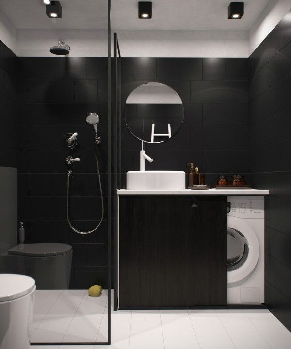 Vosgesparis: A Small And Dark Apartment In Russia   Great Spot For The Washing  Machine  Washing Machine For Apartments